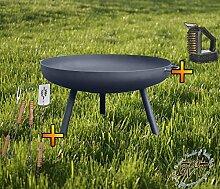 Feuerkorb Feuerschale XL ca. 55cm für Grill,