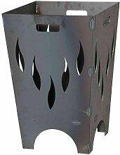 Feuerkorb FLAMIA, Stahl anthrazit LxBxH:40x40x60cm