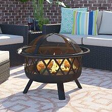 Feuerkorb Klinger aus Stahl Garten Living