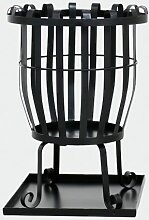 Feuerkorb Pagia, Stahl schwarz, inklusive