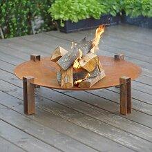 Feuerkorb Pulaski aus Stahl
