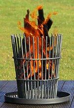 Feuerkorb Stahl geölt, RICON, deutsche Herstellung