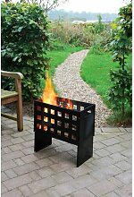 Feuerkorb Stiles aus Metall Garten Living Größe: