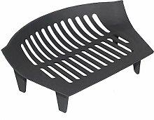 Feuerrost aus Gusseisen, schwarz, ca. 41 cm, Korb,
