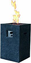Feuersäule aus Beton
