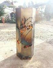 Feuersäule mit Drachenmotiv, Höhe 60cm