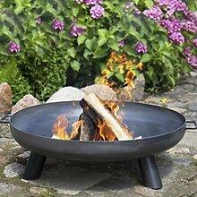 Feuerschale 1000 mm Feuerkorb Stahl Pflanzschale