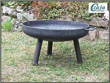 Feuerschale Ø 55 cm Starterpaket Inkl. Holz und