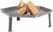 Feuerschale 55cm Feuerkorb Feuerstelle Lagerfeuer