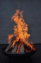 Feuerschale Ø600 mm Feuerkorb Pflanzschale