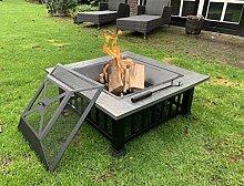 Feuerschale 80 cm XXL groß für den Garten mit