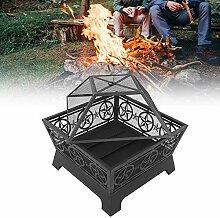 Feuerschale Feuerkorb Feuerstelle aus Gussstein