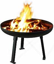 Feuerschale Standard, Ø 100 cm schwarz grundier