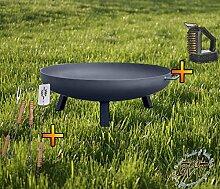 Feuerschale XXL ca. 66cm für Grill, Camping,