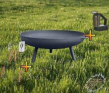 Feuerschale XXXL ca. 100cm für Grill, Camping,