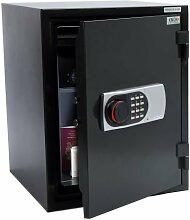 Feuerschutztresor KNOXSAFE FIREKNOX 3 - Safe feuerfest - feuersichere Aufbewahrung von Dokumenten, CD, DvD, USB