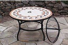 Feuerstelle mit Tisch Calenta Gardeco