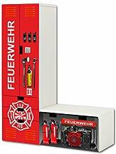 Feuerwehr Aufkleber-Set - SL20 - passend für die