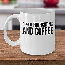 Feuerwehr-Kaffeetasse Feuerwehrmann Geschenkidee