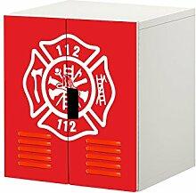 Feuerwehr Möbelfolie/Aufkleber - STK21 -