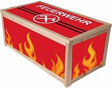 Feuerwehr Möbelsticker / Aufkleber für die Kiste / Box APA von IKEA - IM200