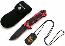 Feuerwehr Rescue Knife Survival Outdoor Messer