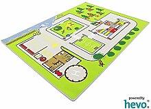Feuerwehreinsatz 112 HEVO® Spielteppich | Kinderteppich 137x190cm
