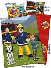 Feuerwehrmann Sam Baby-Bettwäsche, 100x135cm