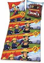Feuerwehrmann Sam Bettwäsche 135x200 cm Einsatz