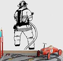 Feuerwehrmann Wandtattoos Kinderzimmer