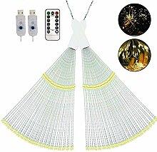 Feuerwerk Licht Dekorations Kupferdraht 120 LED 8