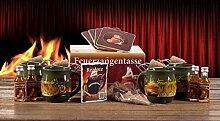 Feuerzangentasse 4er-Set rot Rühmann - Bowle-oliv
