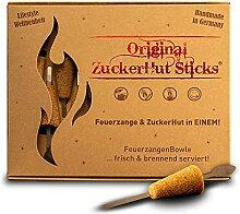 Feuerzangentasse ZuckerHutSticks, 12 Stück,