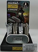 Feuerzeug Clipper 10037Kraftstoff Metall CR