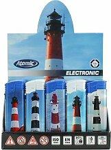 Feuerzeug Einweg Atomic Electronic aus Kunststoff