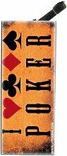 Feuerzeug mit Clip Poker 1