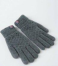 FF Herbst und Winter Männer Handschuhe Dicke