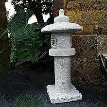 FF&XX Japanische Outdoor Solar Statue,Antiken
