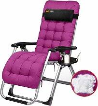 FFCC Zero Gravity Chair Lehnstuhl mit gepolstertem