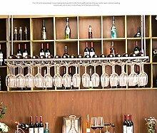 FFJJQAN Weinflaschenhalter,Hängende Weinglas