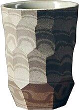 FFLLBPS0904 Becher,Grobe Keramiktasse Kaffeetassen