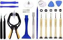 FFS 19Stück Tool Kit für iPhone iPad Smartphone Tablet repair