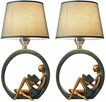 Ffshop Nachttisch-Leuchte für Schlafzimmer