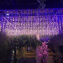 FFTONG LED Lichterketten Eiszapfen Lichterkette