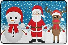FFY Go Badematte, weihnachtliches Rentier,