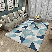 FFYSNN Blau Grau Dreieck Kinder Baby Wohnzimmer