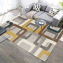 FFYSNN Flauschige Matte Weiche Teppiche Farbe