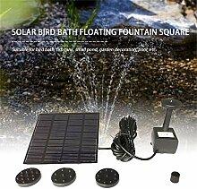 fghdf Sonnenkollektor Wasserpumpe Kit Brunnen Pool