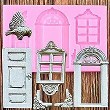 FGHHT Tür Fenster Kuchen Grenze