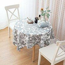 FGHOMEAQZB Couchtisch Tischdecke aus Baumwolle und